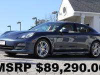 Loaded with 19' Panamera Turbo Wheels, Navigation, Rear