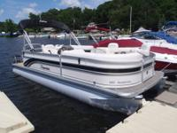 2012 Premier SunSation 220, this 22ft pontoon boat is