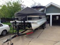 2012 Premier Pontoon- Sunsation 220 design. One owner