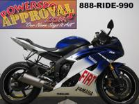 Used Yamaha R6 for sale with Fiat Yamaha Racing