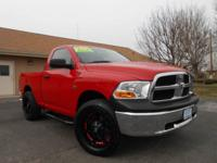 2012 RAM 1500 REGULAR CAB SHORT BOX 4X4! ONLY 53K