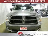 Chrysler Certified and 4WD. Levers and controls are a