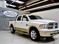 2012 RAM 1500 CREW CAB LARAMIE LONGHORN 4X4: BRIGHT