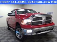 New Price! Red 2012 Ram 1500 SLT 4WD 6-Speed Automatic
