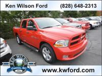 Exterior Color: flame red, Body: Crew Cab Pickup,