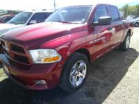 Exterior Color: maroon, Body: Crew Cab Pickup, Engine: