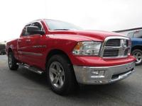 CARFAX One-Owner. Clean CARFAX. 2012 Ram 1500 Big Horn