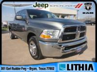 2012 RAM 2500 4x2 Crew Cab 149 in. WB ST ST Our