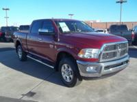 2012 Ram 2500 Laramie 10 Speakers, 4-Wheel Disc Brakes,