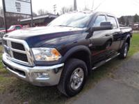 LOCAL TRADE, CLEAN CARFAX, SOLD HERE NEW, POWER WAGON,