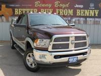 (512) 948-3430 ext.967 This 2012RAM2500Laramie Has A