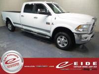 2012 Ram 3500 Laramie 4X4***Bright White Clearcoat