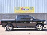2012 Ram 1500 Big Horn  in Black Clearcoat, Bluetooth