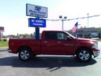Options:  2012 Ram Ram Pickup 1500 Big Horn 4X4 4Dr