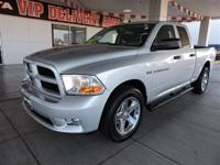 We are excited to offer this 2012 Ram 1500. Drive home