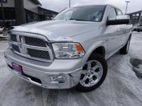 Options:  2012 Ram 1500 Laramie|Gray|Priced Below Kbb