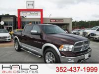2012 RAM 1500 Laramie crew cab 4x4 fully loaded with