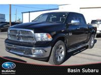 Meet our 2012 RAM 1500 Laramie Limited Crew Cab 4x4
