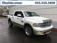 WOW!!! Check out this. 2012 Ram 1500 Laramie Longhorn