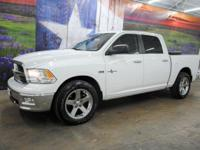 *Purchase this bright white 2012 Ram 1500 Lone Star