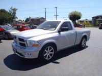 This 2012 RAM 1500 SLT includes a CD changer, CD