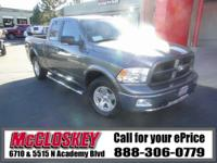 This tough and rugged 2012 Dodge Ram 1500 is the