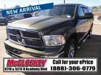 ONE OWNER!! This tough  2012 Dodge Ram 1500 comes with