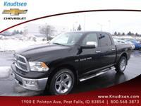 Options:  2012 Ram 1500 Slt Black Medium Graystone/Dark