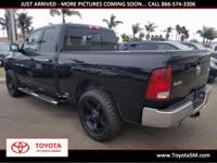 Options:  2012 Ram 1500|Black|4Wd. Clean Carfax.