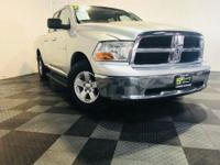 Meet our 2012 RAM 1500 SLT Quad Cab 4x4 proudly shown