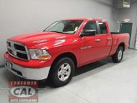 Options:  2012 Ram 1500 4Wd Quad Cab 140.5 Slt|4-Wheel