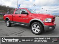 4WD, Low miles for a 2012! Satellite Radio, AM/FM Radio