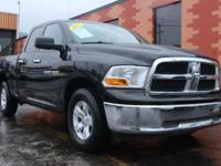 From work to weekends, this Black 2012 Ram 1500 SLT