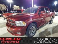 Sport Package! Crew Cab Short Bed! Leather Interior!