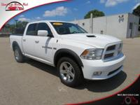 This four wheel drive 2012 Ram 1500 Sport features a