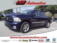 Test drive this 2012 RAM 1500 located at Lee Chrysler
