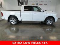 *EXTRA LOW MILES 41K,SHORT BOX,HEMI 5.7L V8,TONNEAU