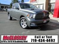 Dont miss out on this RAM!! HEMI V8 5.7 L Sport Series,