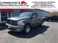 This is a really good looking Ram Sport with 20 wheels,