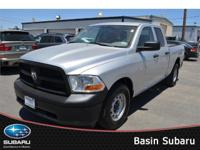 Meet our 2012 RAM 1500 ST Quad Cab 4x2 shown in a