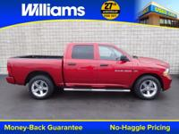 Options:  2012 Ram 1500 St|Red|Clean Vehicle History