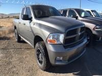 Options:  2012 Ram 1500 St 4X4 Quad 6.4Ft|This Brawny