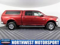 Clean Carfax One Owner 4x4 Diesel Truck with Canopy!
