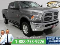 Recent Arrival! Just Reduced! LARAMIE! DIESEL!