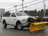 **** WELL MAINTAINED 2500 with SNOW PLOW **** This 2012