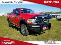 Recent Arrival! Red 2012 Ram 2500 SLT Cummins 6.7L I6