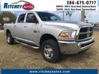 CLEAN CAR FAX 2012 RAM 2500 SLT 4WD CREW CAB**TWO