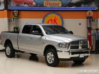 This Clean Carfax 2012 Ram 2500 SLT is in great shape