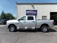 Our 2012 RAM 2500 ST Crew Cab 4x4 brought to you in a