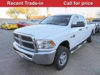 Come see this versatile 2012 Ram 2500 ST. Winch-type